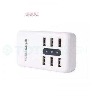 سه راهی و شارژر USB مارک TOTU