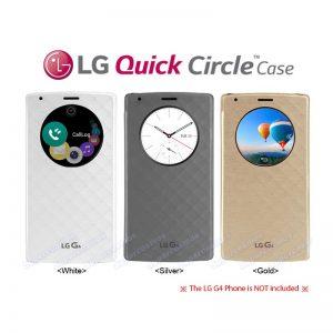 کیف اصلی LG G4 Quick Circle Case