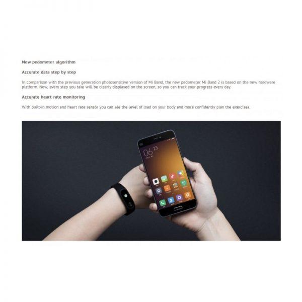 اسمارت بند شیائومی Mi Smartband 2
