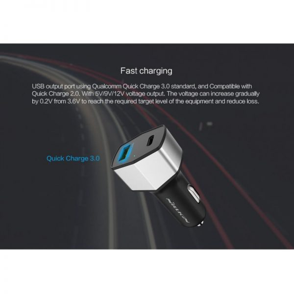 Nillkin Celerity USB Type-C & Quick Car Charge