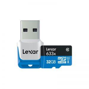 مموری میکرو لکسار Lexar 32GB microSDXC Class 10
