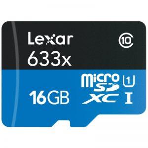مموری میکرو 16 گیگ Lexar 16GB microSDXC Class10