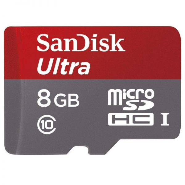 مموری میکرو 8 گیگابایت SanDisk 8GB Class 10