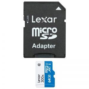 مموری میکرو 64 گیگ Lexar 64GB 45MB/S