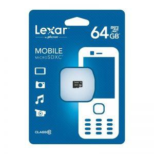 مموری میکرو 64 گیگابایت Lexar 64GB Class10