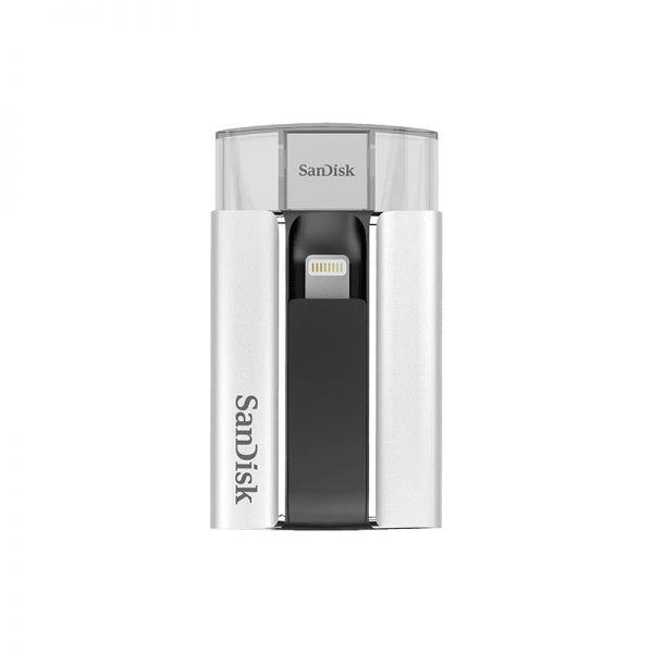 فلش مموری 32 گیگابایت SanDisk iXpand USB and Lightning