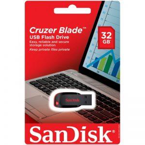 فلش مموری سن دیسک SanDisk Cruzer Blade 32GB
