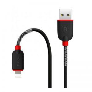 کابل لایتینگ Baseus Spring Data Cable