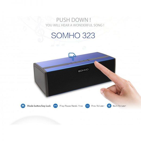 اسپیکر بلوتوث SOMHO 323