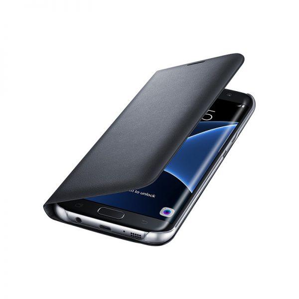 کیف اصلی Galaxy S7 edge LED View Cover