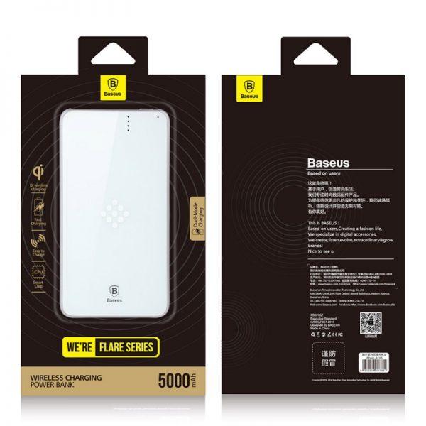 پاوربانک وایرلس Baseus 5000mAh Power Bank Dual Mode