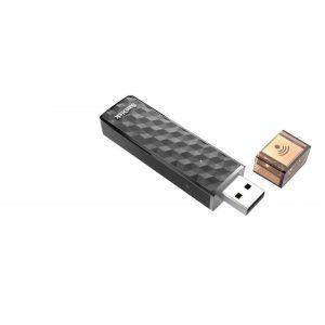 فلش مموری وای فای 64 گیگابایت SanDisk Wireless Stick