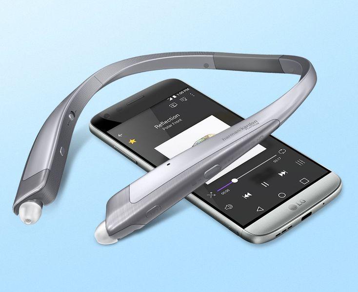 قیمت و خرید هدست بی سیم ال جی LG Tone Platinum HBS-1100