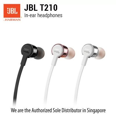 هندزفری (ایرفون) جی بی ال JBL T210