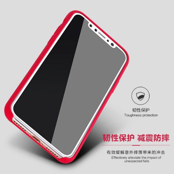 قاب محافظ آیفون ایکس iPhone X مارک XO با طراحی زیبا و ظریف