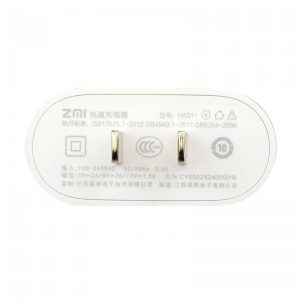 آداپتور فست شارژ شیائومی Xiaomi ZMI Quick Charge Adapter