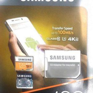 کارت حافظه میکرو اس دی Samsung EVO micro SDXC 128GB