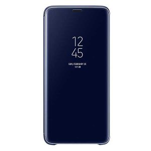 کیف محافظ اصلی Samsung Galaxy S9 Plus Clear View Standing Cover