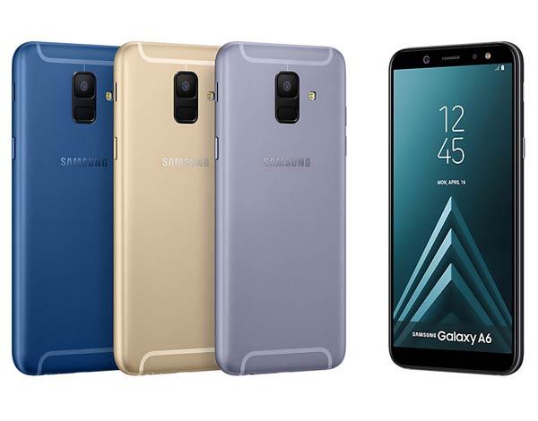 قیمت و مشخصات گوشی Galaxy A6 2018