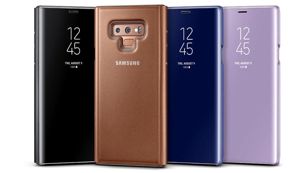 کیف گلکسی نوت 9 اصلی Galaxy Note 9 Clear View Standing Cover