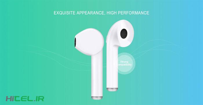 هندزفری طرح ایرپاد اپل HBQ i7S TWS