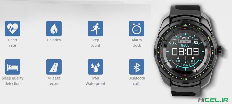 قیمت و خرید ساعت هوشمند کینگ ور Kingwear KW01