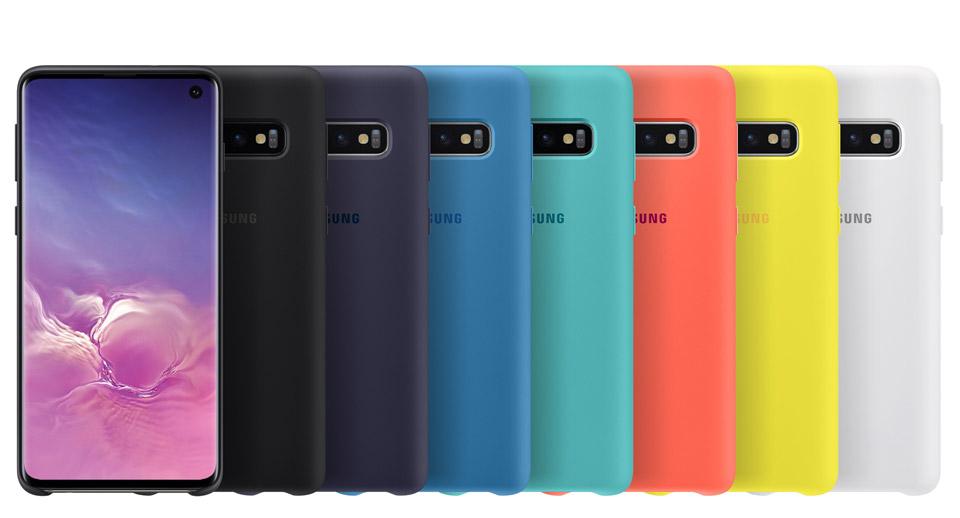 قاب سیلیکونی سامسونگ اصلی Samsung Galaxy S10 Silicone Cover