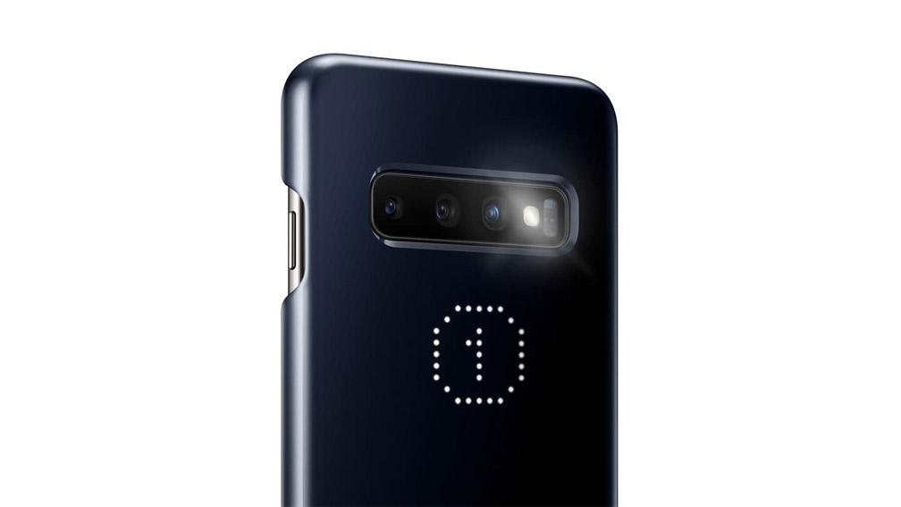 کیف محافظ اصلی سامسونگ Samsung Galaxy S10 LED Cover