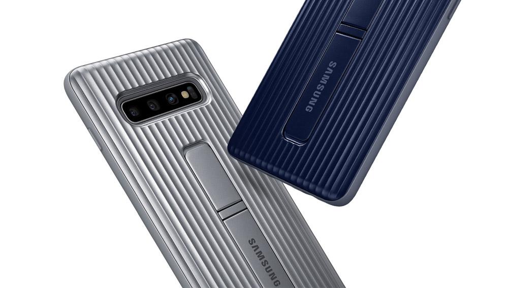 قاب محافظ اصلی اس 10 پلاس Galaxy S10+ Plus Protective Standing Cover