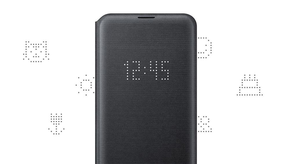 کیف محافظ اصلی سامسونگ Galaxy S10e LED View Cover