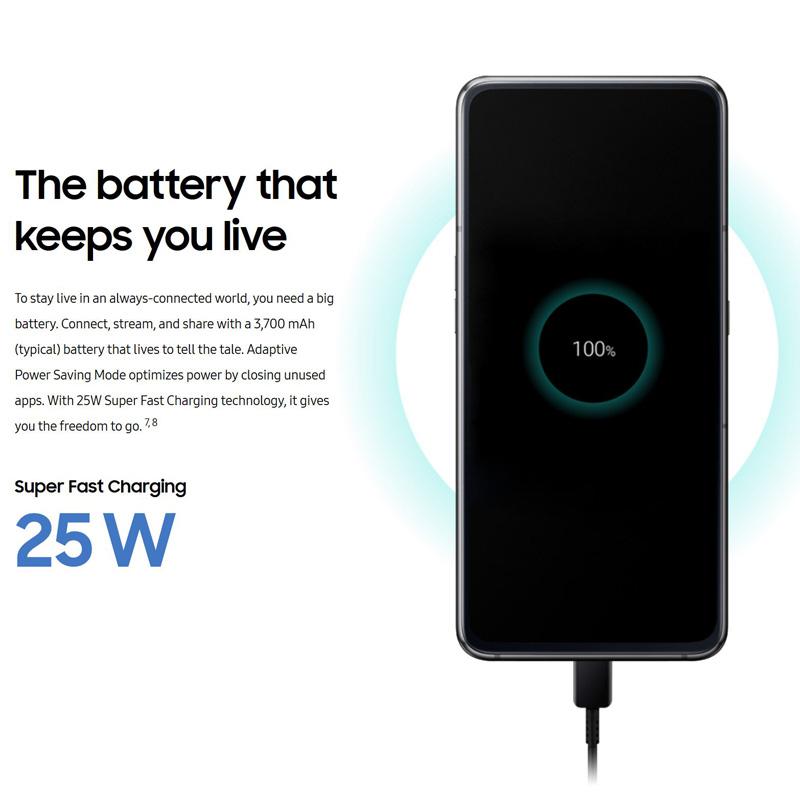 مشخصات گوشی سامسونگ Galaxy A80