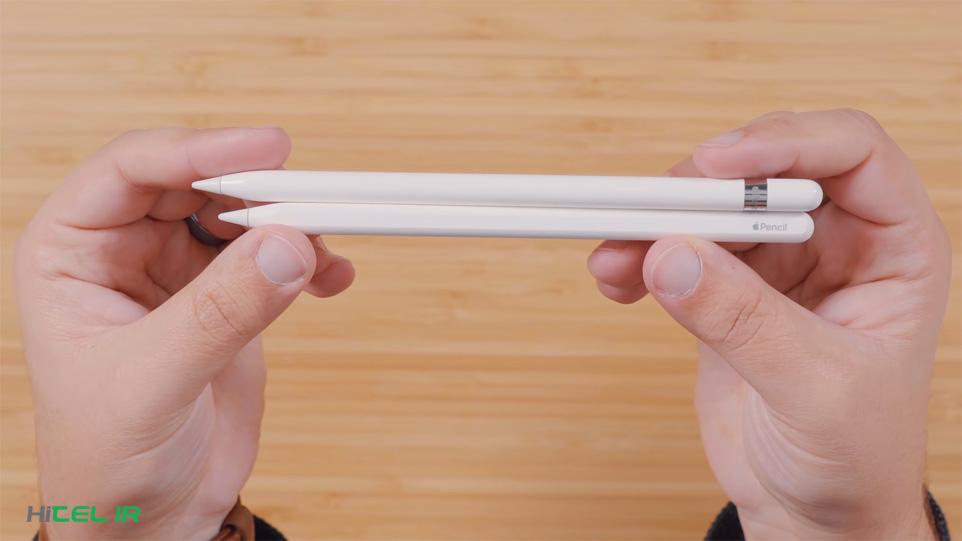 تفاوت قلم اپل نسل 2 و 1 چیست؟
