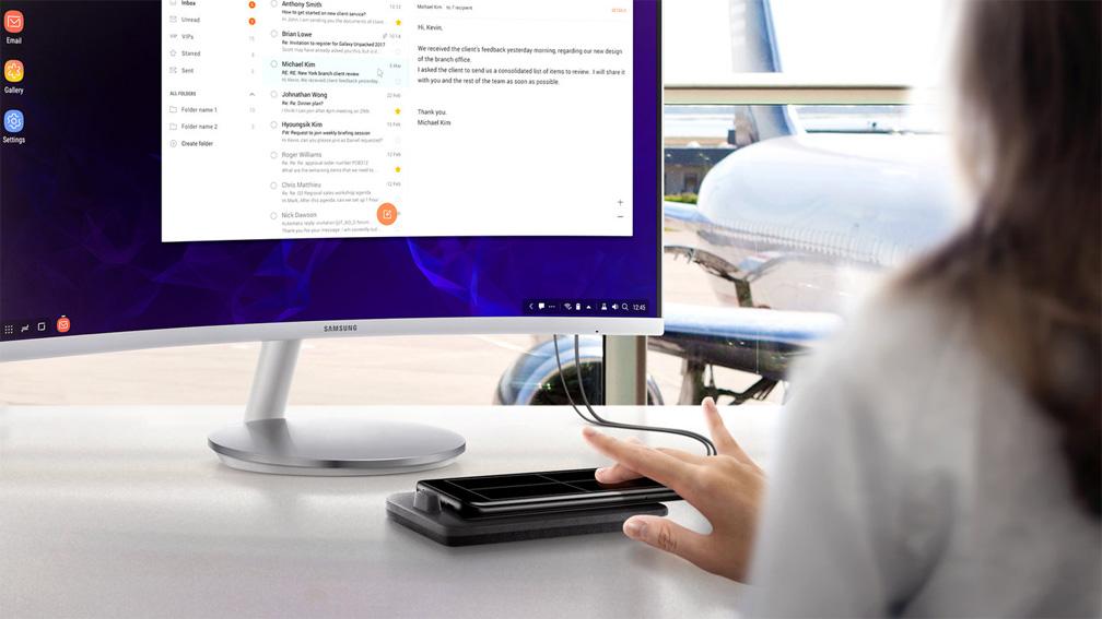 دکس پد سامسونگ Samsung DeX Pad