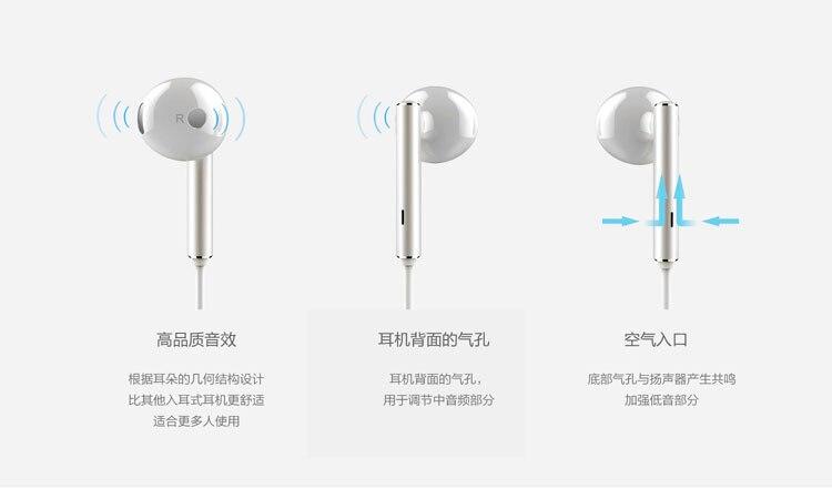 هندزفری اصلی هواوی Huawei Earphone AM116