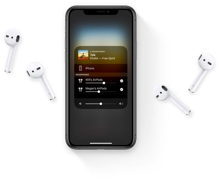 هدفون بی سیم اپل ایرپاد Apple MV7N2 AirPods 2