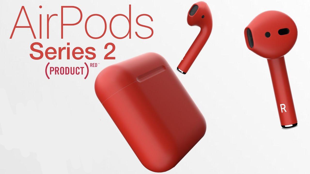 ایرپاد اپل ورژن 2 رنگ قرمز