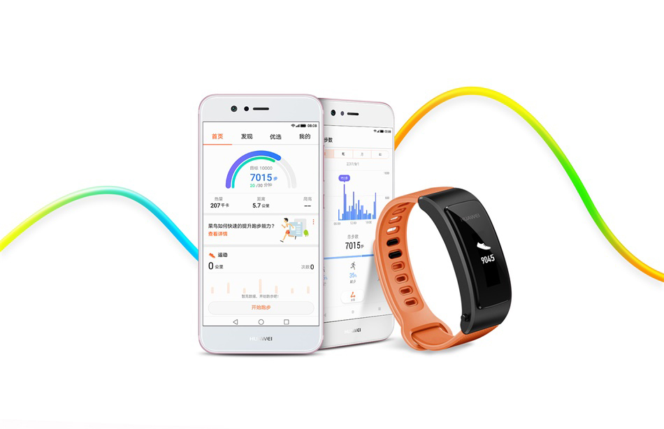 دستبند هوشمند هواوی HUAWEI TalkBand B3 Lite