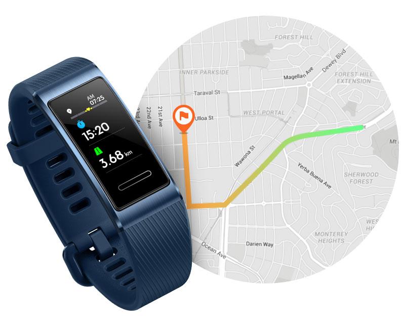 دستبند هوشمند هواوی HUAWEI Band 3 Pro