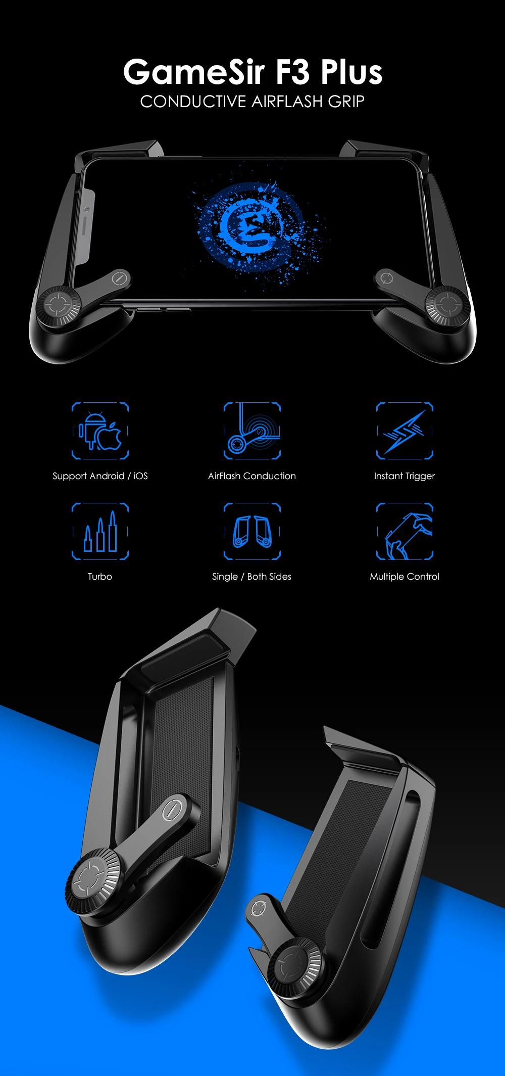 دسته بازی موبایل GameSir F3 Plus