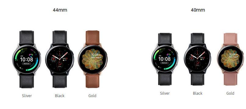 ساعت هوشمند سامسونگ Galaxy Watch Active 2 مدل استیل 44mm