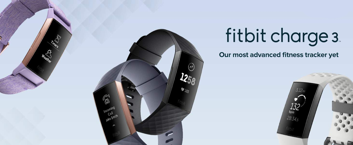 دستبند هوشمند فیت بیت Fitbit Charge 3