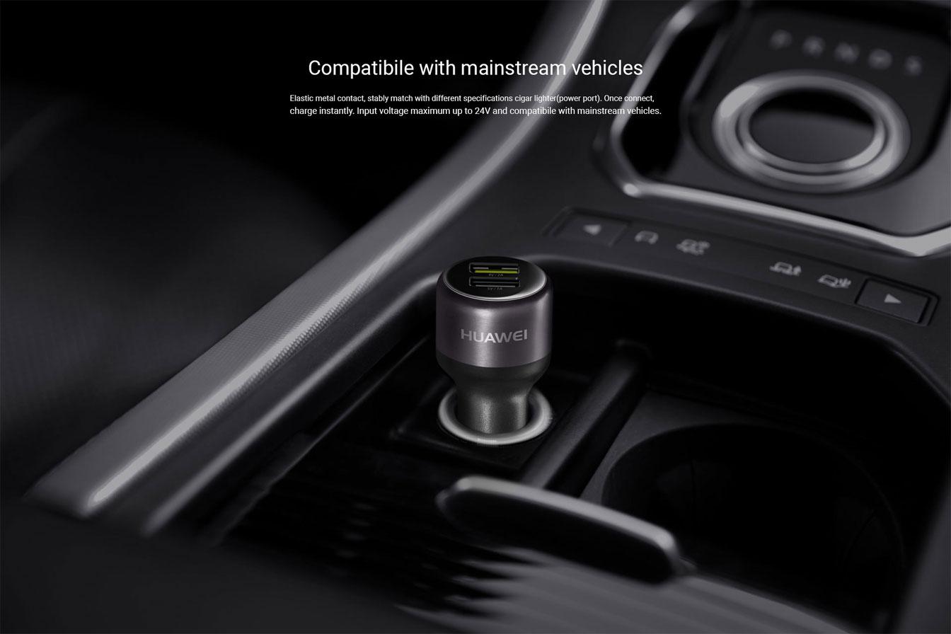 شارژر فندکی هواوی فست شارژ Huawei Car Charger AP31
