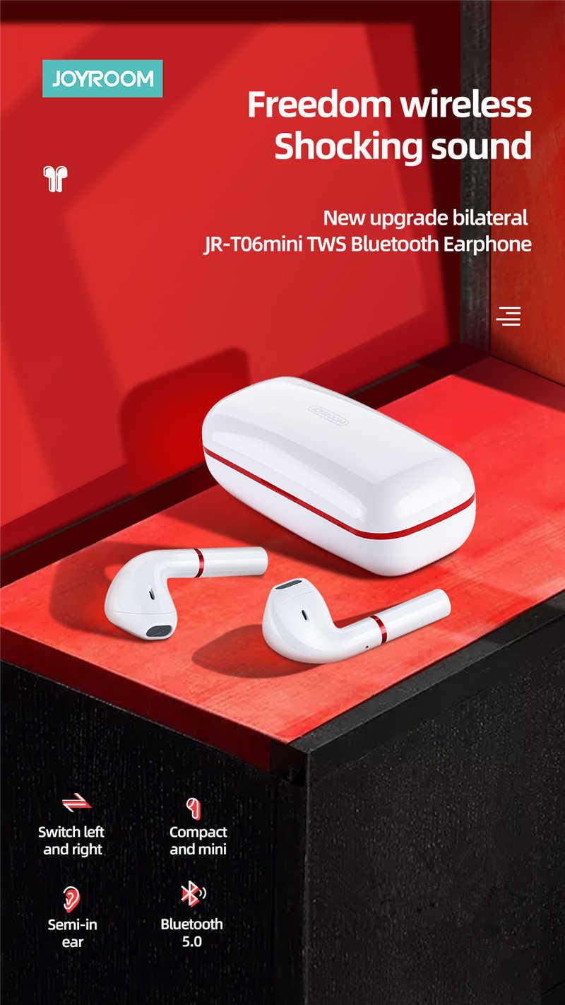 هندزفری بلوتوث جویروم Joyroom JR-T06 Mini Tws