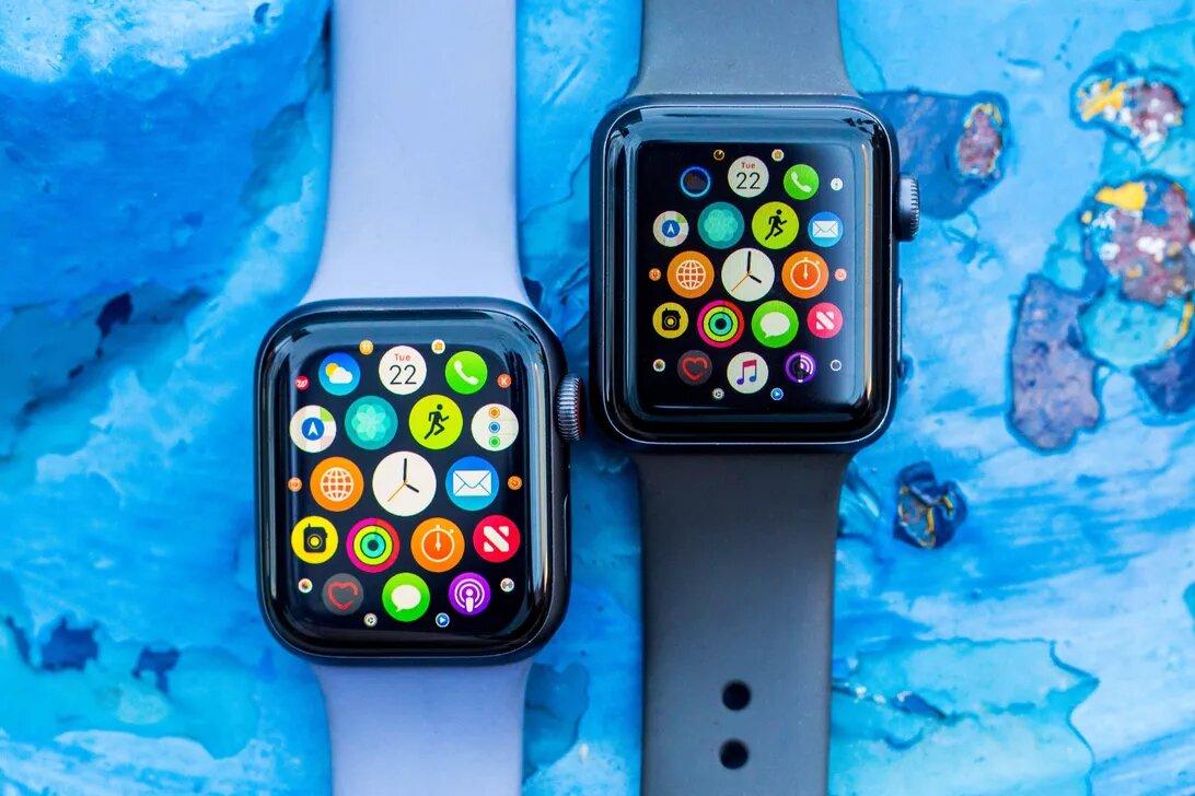 مقایسه ساعت اپل واچ سری 5 و سری 4