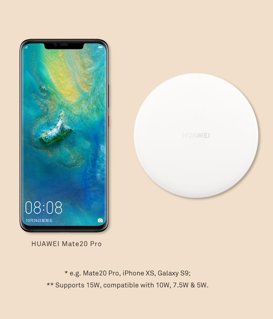 شارژر بی سیم هواوی Huawei Wireless Charger CP60 15W