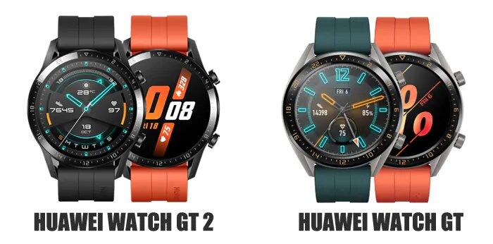 ساعت هوشمند Huawei Watch GT با Watch GT 2