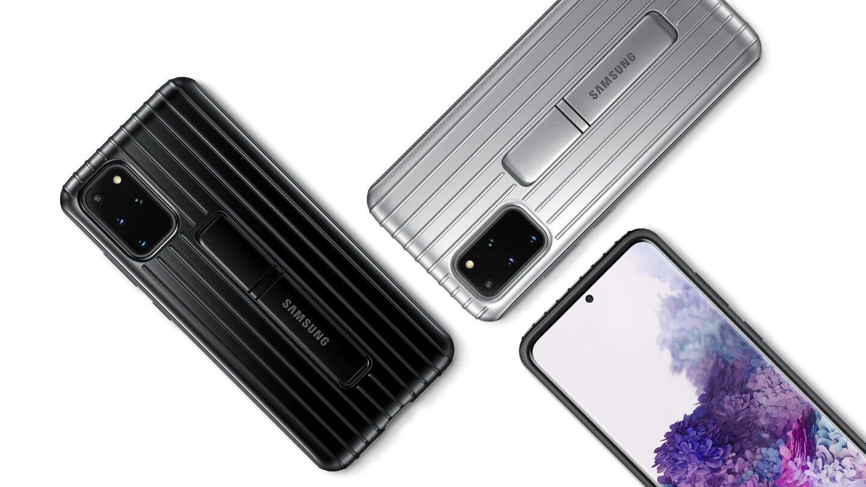 قاب محافظ اصلی سامسونگ Galaxy S20+ Plus Protective Standing Cover