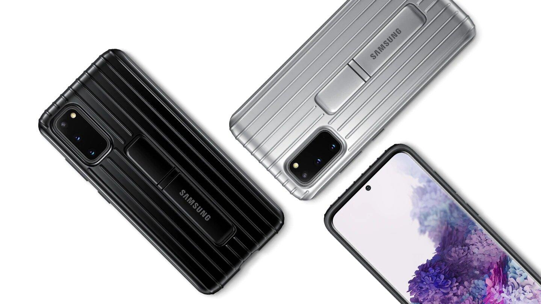 قاب محافظ اصلی سامسونگ Galaxy S20 Protective Standing Cover
