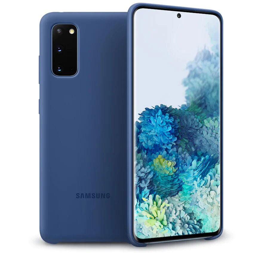 قاب سیلیکونی اصلی سامسونگ Galaxy S20 Silicone Cover