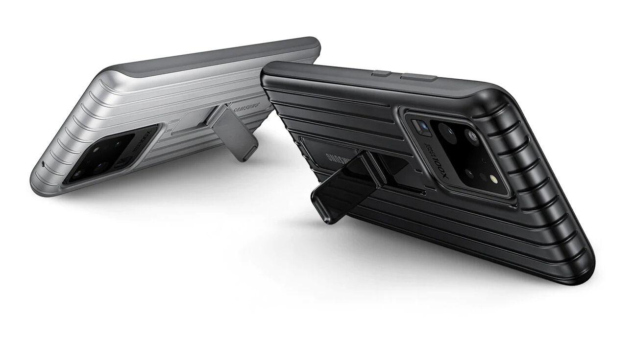 قاب محافظ اصلی سامسونگ Galaxy S20 Ultra Protective Standing Cover
